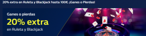 20% extra con william hill